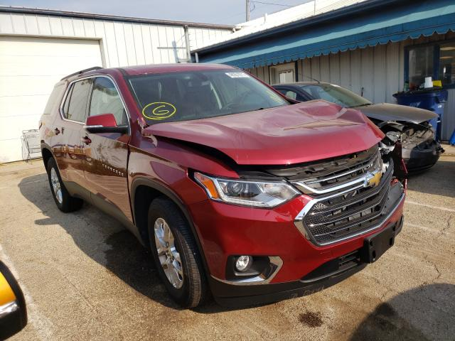 Salvage cars for sale from Copart Pekin, IL: 2021 Chevrolet Traverse L
