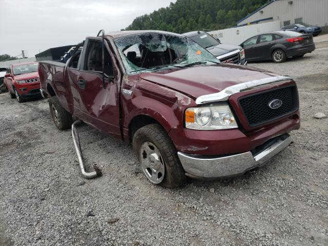 Salvage cars for sale from Copart Hurricane, WV: 2005 Ford F150