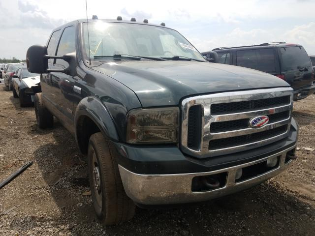Salvage cars for sale from Copart Elgin, IL: 2005 Ford F350 SRW S