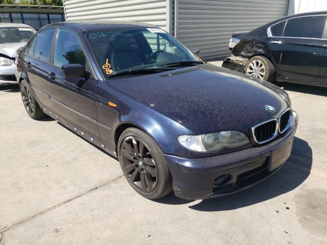 Salvage cars for sale from Copart Sacramento, CA: 2002 BMW 325 I