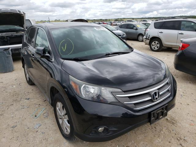 Salvage cars for sale from Copart New Braunfels, TX: 2014 Honda CR-V EX
