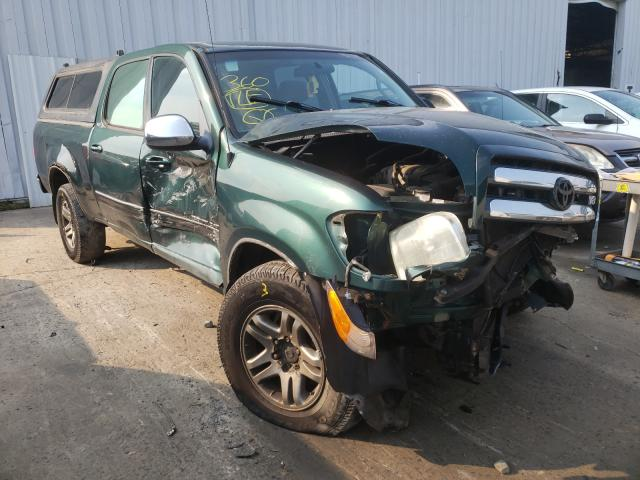 Salvage cars for sale from Copart Windsor, NJ: 2004 Toyota Tundra DOU