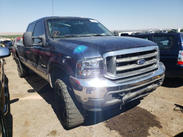 Salvage cars for sale from Copart Albuquerque, NM: 2003 Ford F350 SRW S
