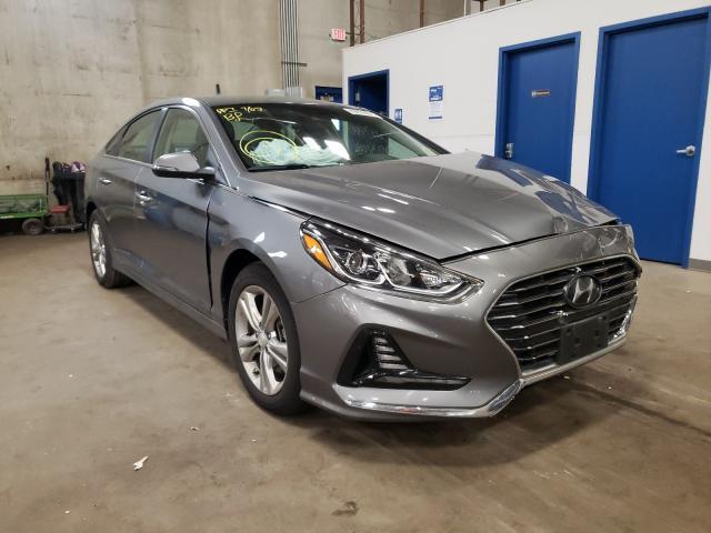 Hyundai Sonata salvage cars for sale: 2018 Hyundai Sonata