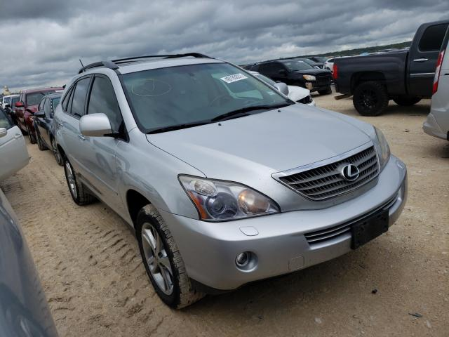 Salvage cars for sale from Copart New Braunfels, TX: 2008 Lexus RX 400H