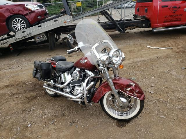 Salvage cars for sale from Copart Wheeling, IL: 2009 Harley-Davidson Flstn