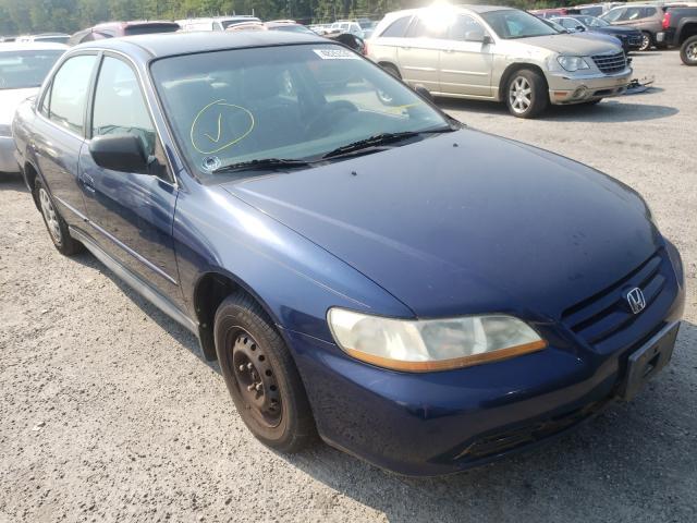 Vehiculos salvage en venta de Copart Fredericksburg, VA: 2002 Honda Accord VAL