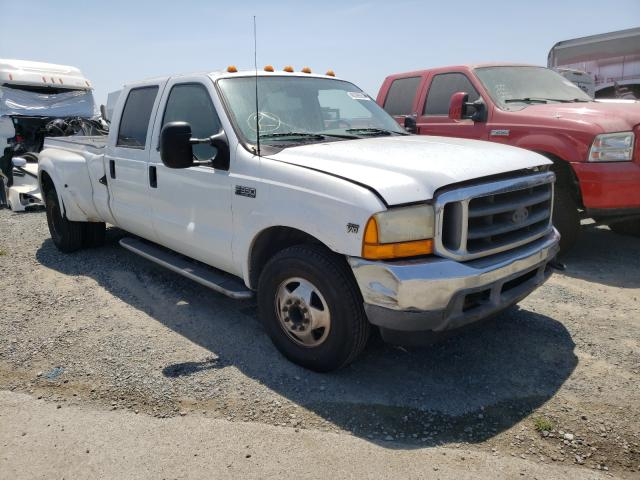 Salvage cars for sale from Copart San Diego, CA: 2001 Ford F350 Super