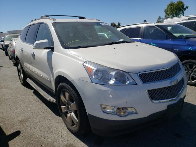Chevrolet Traverse salvage cars for sale: 2012 Chevrolet Traverse