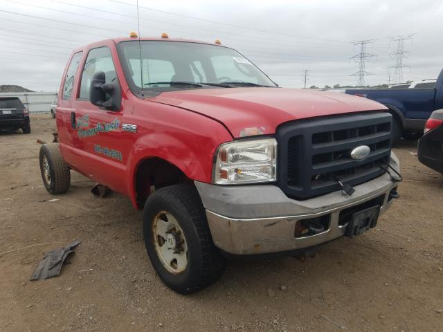 Salvage cars for sale from Copart Elgin, IL: 2006 Ford F250 Super