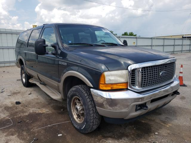 Salvage cars for sale from Copart Lexington, KY: 2000 Ford Excursion