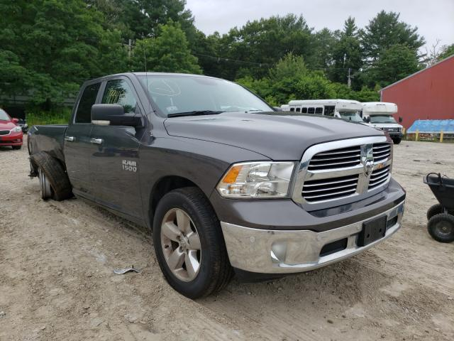 Salvage cars for sale from Copart Mendon, MA: 2016 Dodge RAM 1500 SLT