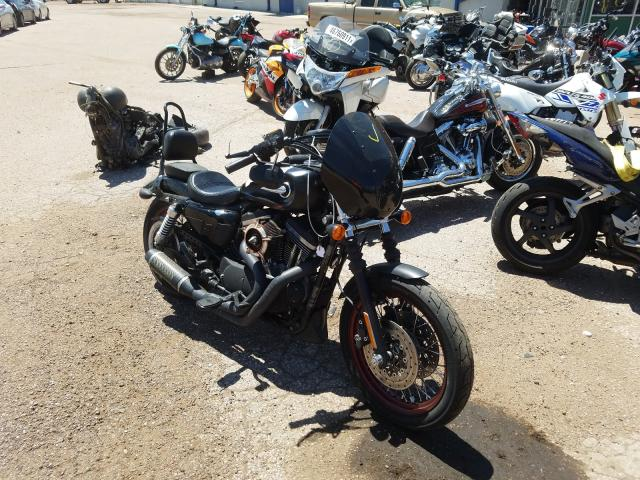 Salvage motorcycles for sale at Colorado Springs, CO auction: 2014 Harley-Davidson XL883 Super