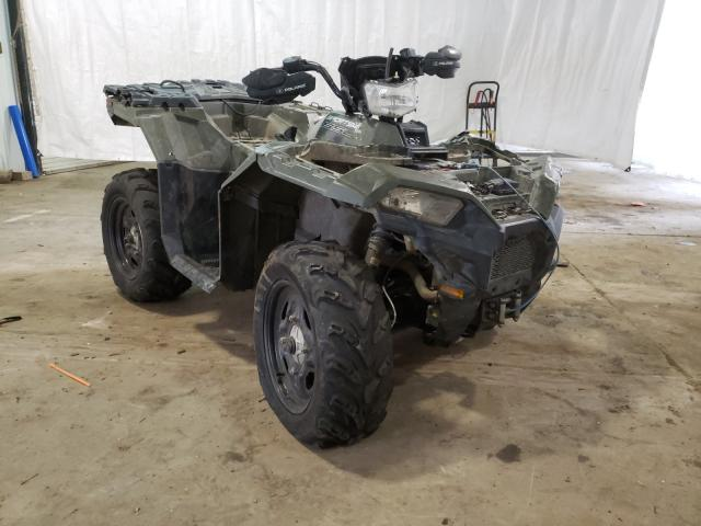 Salvage motorcycles for sale at Central Square, NY auction: 2019 Polaris Sportsman