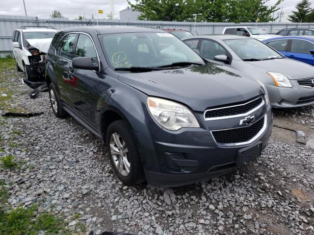 Salvage cars for sale from Copart Ontario Auction, ON: 2011 Chevrolet Equinox LS