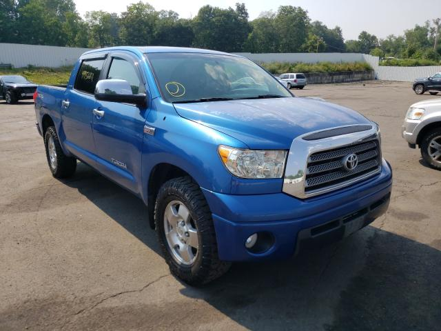 Salvage cars for sale from Copart Marlboro, NY: 2008 Toyota Tundra CRE