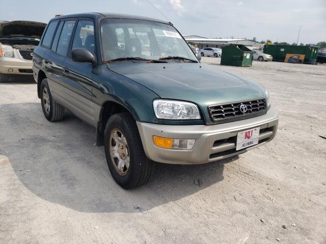 Salvage cars for sale from Copart Alorton, IL: 2000 Toyota Rav4