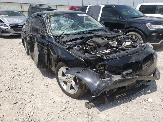Salvage cars for sale from Copart Haslet, TX: 2015 BMW 328 I