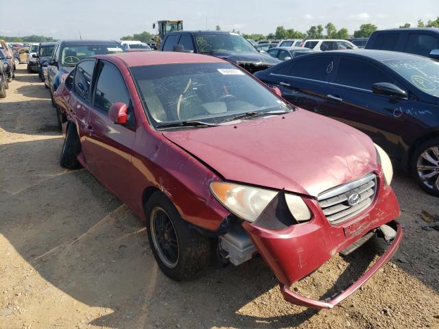 Salvage cars for sale from Copart Bridgeton, MO: 2007 Hyundai Elantra GL