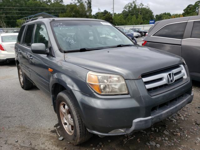 Salvage cars for sale from Copart Savannah, GA: 2008 Honda Pilot EXL