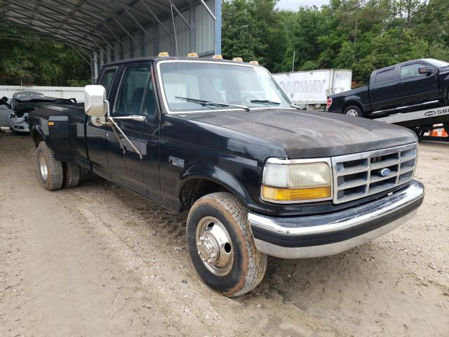 Salvage cars for sale from Copart Midway, FL: 1993 Ford F350