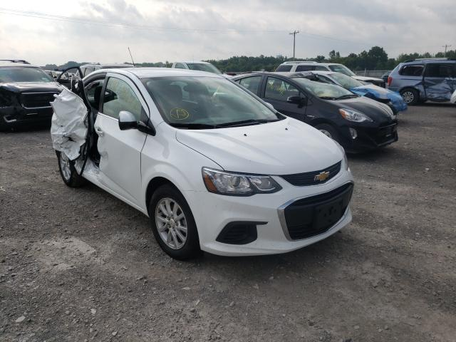 Salvage 2020 CHEVROLET SONIC - Small image. Lot 49213821