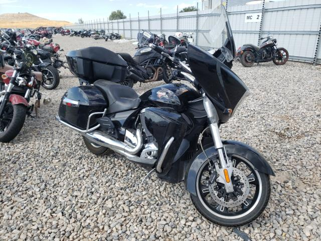 Salvage motorcycles for sale at Magna, UT auction: 2013 Victory Cross Country