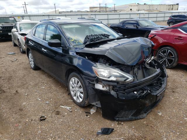 Vehiculos salvage en venta de Copart Mercedes, TX: 2017 Nissan Sentra S