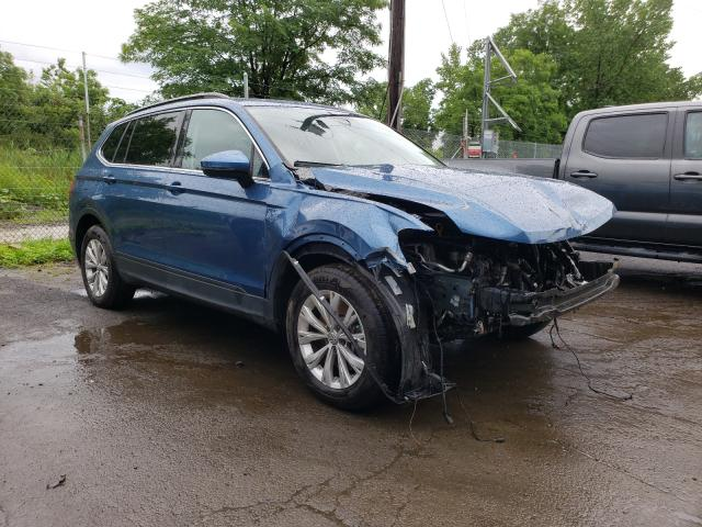 Salvage cars for sale from Copart Marlboro, NY: 2019 Volkswagen Tiguan SE