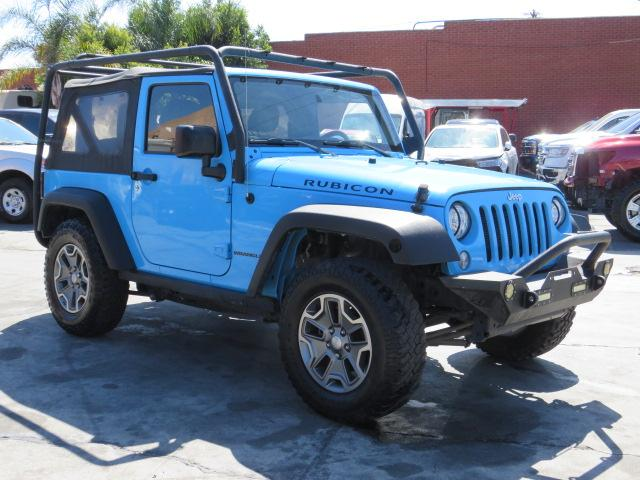 Salvage cars for sale from Copart Colton, CA: 2017 Jeep Wrangler R