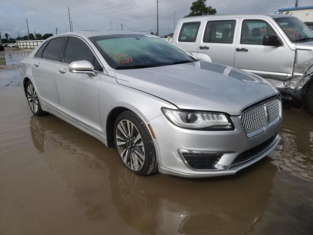 Salvage cars for sale from Copart Riverview, FL: 2017 Lincoln MKZ Reserv
