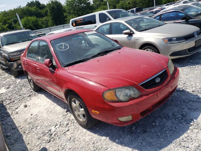 Salvage cars for sale from Copart Prairie Grove, AR: 2003 KIA Spectra GS