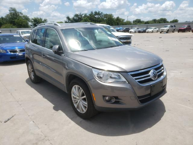 Salvage cars for sale from Copart Wilmer, TX: 2011 Volkswagen Tiguan S