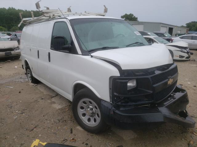 Salvage cars for sale from Copart Hampton, VA: 2014 Chevrolet Express G1
