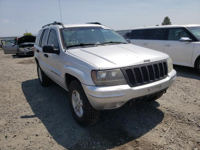 Salvage cars for sale from Copart Airway Heights, WA: 2002 Jeep Grand Cherokee