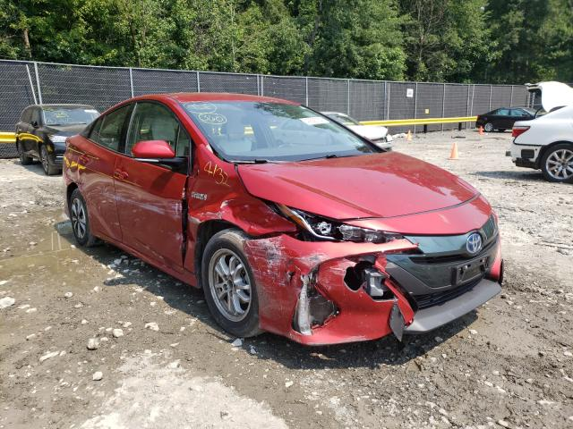 Salvage cars for sale from Copart Waldorf, MD: 2018 Toyota Prius Prim