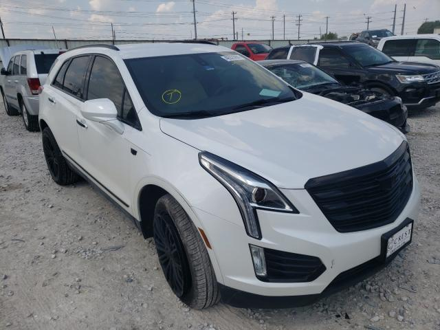 Salvage cars for sale from Copart Haslet, TX: 2017 Cadillac XT5