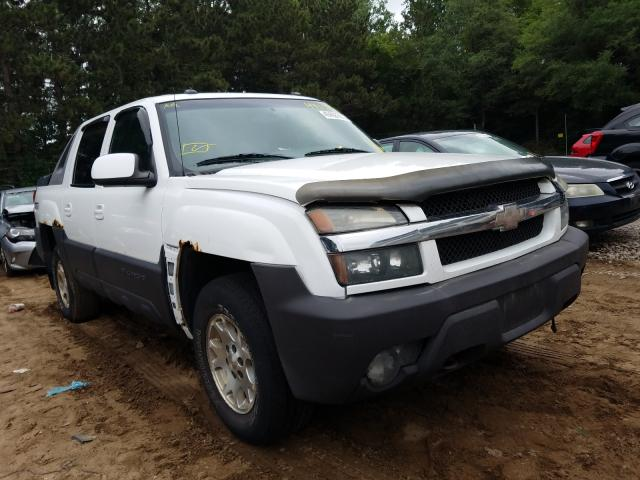 Salvage cars for sale from Copart Ham Lake, MN: 2003 Chevrolet Avalanche