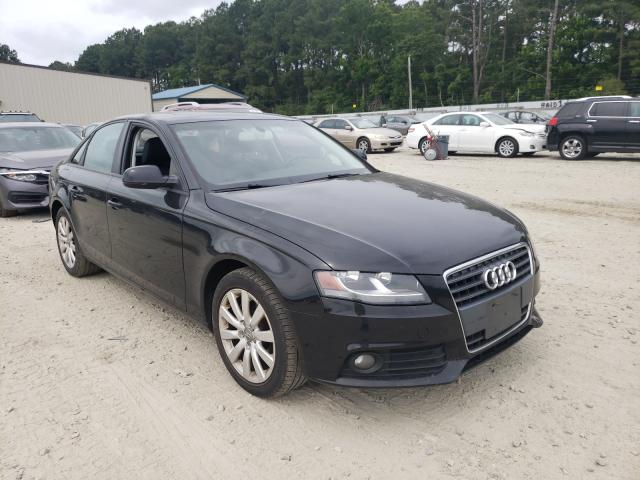 Salvage cars for sale from Copart Seaford, DE: 2012 Audi A4 Premium