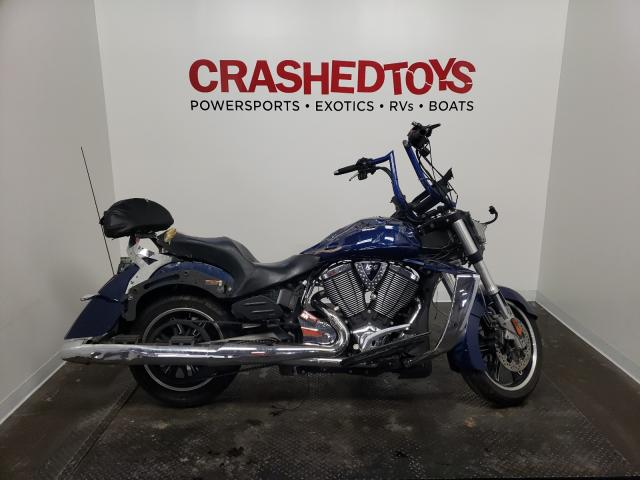 Salvage motorcycles for sale at Ham Lake, MN auction: 2011 Victory Cross Country