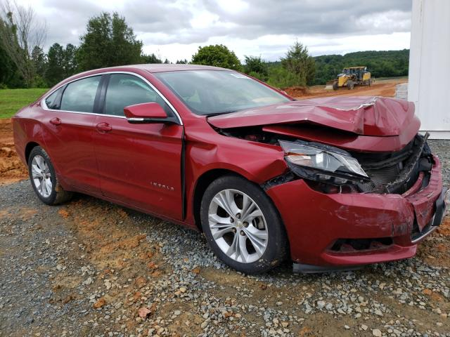 Salvage cars for sale from Copart Concord, NC: 2015 Chevrolet Impala LT