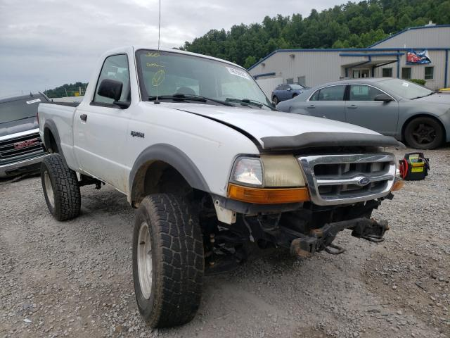 Salvage cars for sale from Copart Hurricane, WV: 2000 Ford Ranger SUP