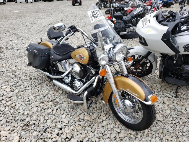 Salvage cars for sale from Copart Appleton, WI: 2017 Harley-Davidson Flstc Heri