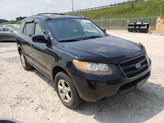 Salvage cars for sale from Copart Northfield, OH: 2007 Hyundai Santa FE G