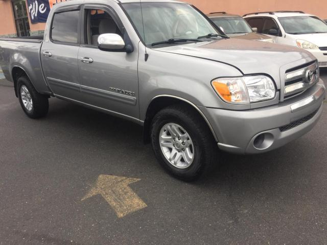 Salvage cars for sale from Copart New Britain, CT: 2005 Toyota Tundra DOU