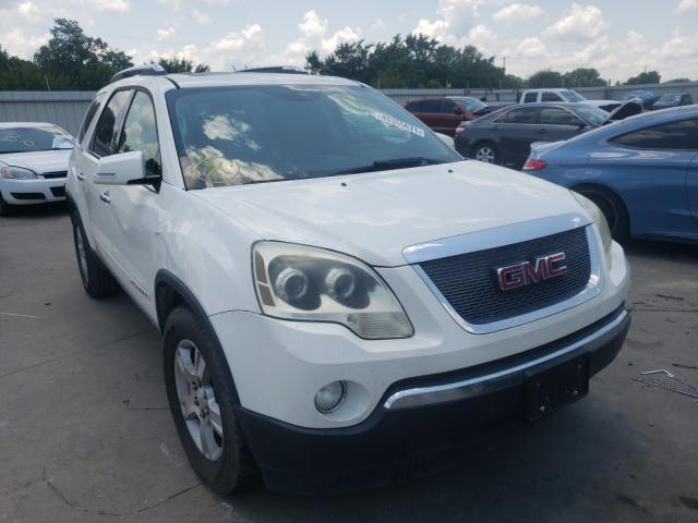 Salvage cars for sale from Copart Wilmer, TX: 2007 GMC Acadia SLT