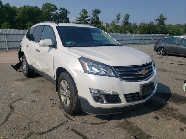 Salvage cars for sale at Exeter, RI auction: 2016 Chevrolet Traverse L