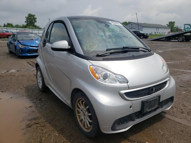 Smart salvage cars for sale: 2013 Smart Fortwo