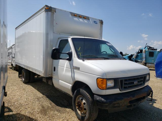 Salvage cars for sale from Copart Nisku, AB: 2007 Ford Econoline
