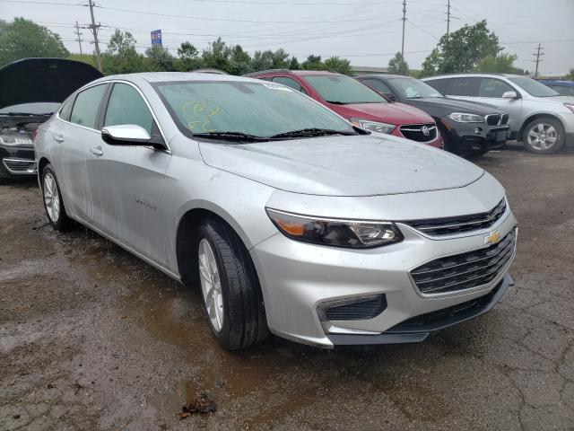 Salvage cars for sale from Copart Woodhaven, MI: 2018 Chevrolet Malibu LT